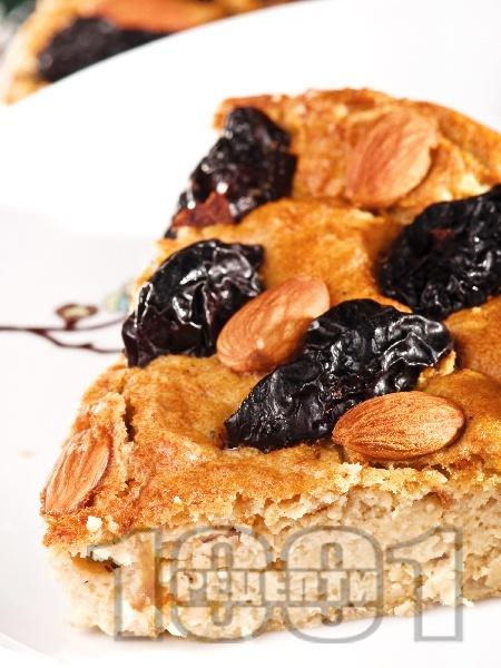 Соево предястие с бадеми и сливи - снимка на рецептата